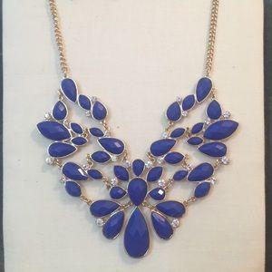 Blue Boutique Necklace